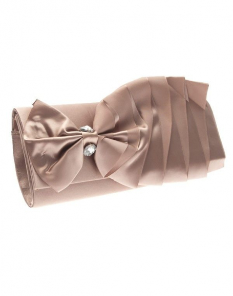 Sac femme Style Shoes: pochette champagne
