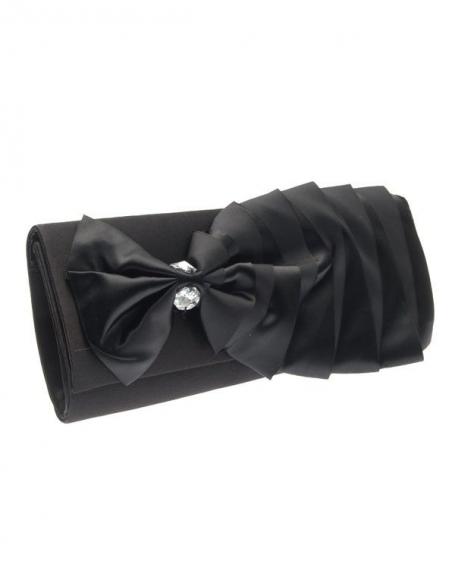 Sac femme Style Shoes: pochette noire
