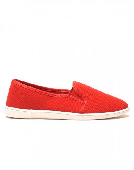 Slipper rouge légères et confortables
