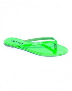 Chaussure femme Ideal: Tong verte