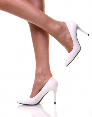Escarpins blancs