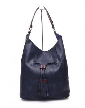 Large sac quotidien bleu