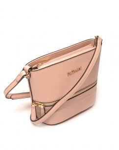 Petit sac bandoulière rose pale