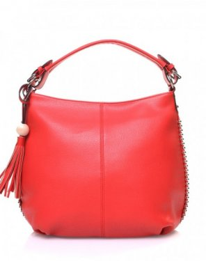 Sac bourse rouge