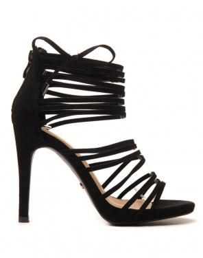 Sandale noire multi bride