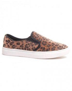 Slip-on léopard
