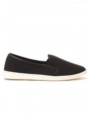 Slipper noir légères et confortables