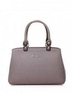 Mini sac à main gris