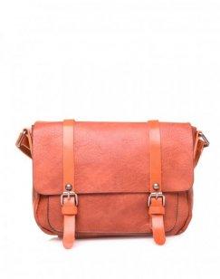 Petit sac bandoulière vintage brique