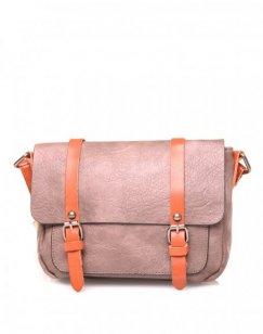 Petit sac bandoulière vintage taupe