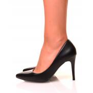 Escarpins noir à talon aiguilles