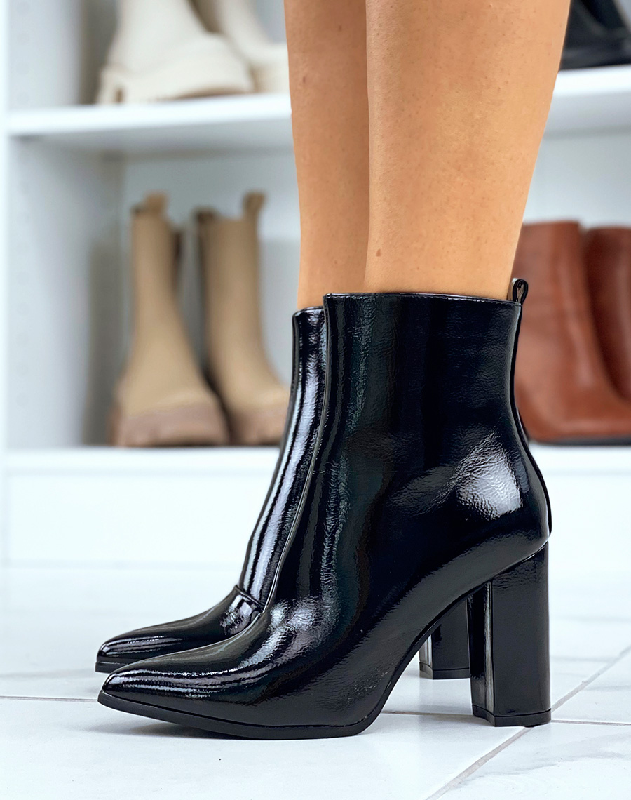 bottines talons pointues