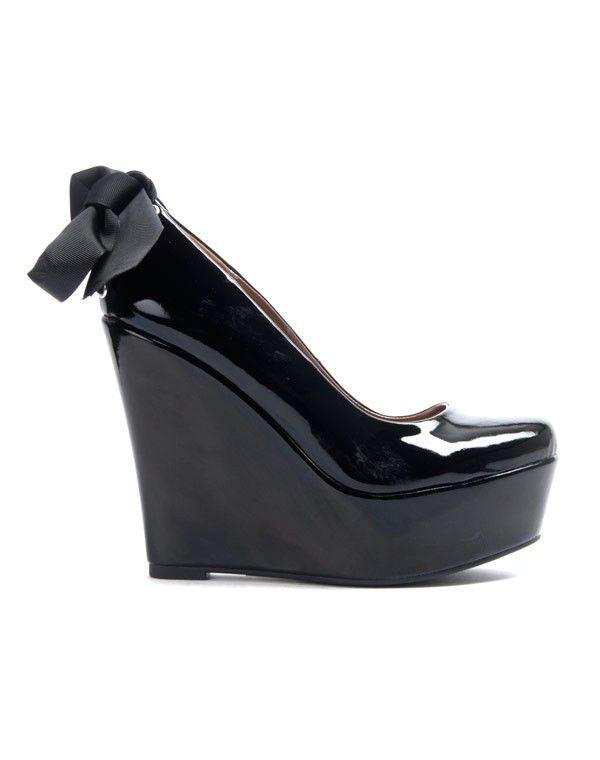 SinlyEscarpin Chaussure Femme Noir Compensé Chaussure SinlyEscarpin Noir Femme Compensé nO08kwP