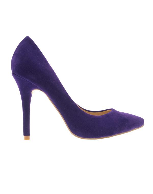 acheter pas cher 47334 fc9bd Chaussure femme Style Shoes: Escarpin violet
