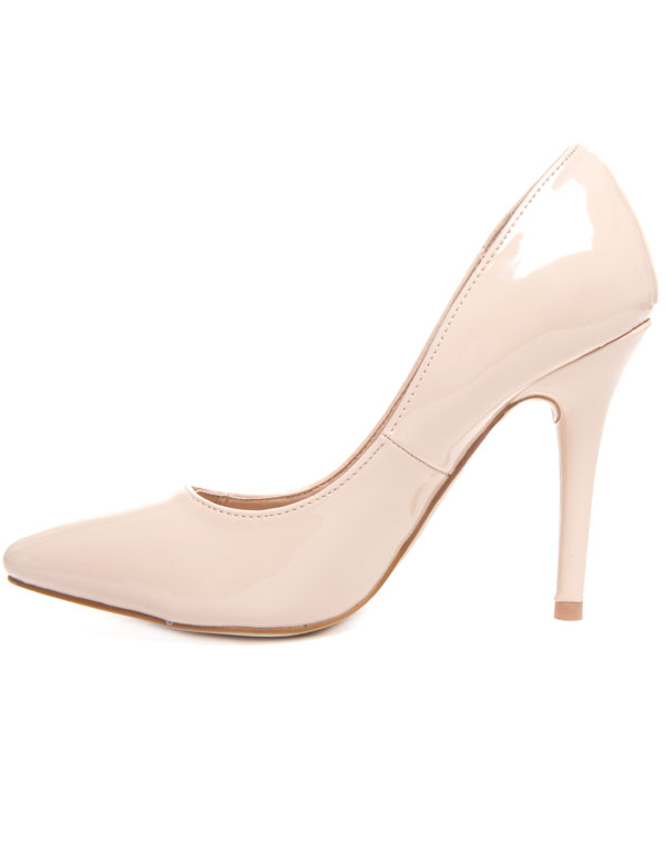 Style ShoesEscarpin Vernis Femme Beige Chaussures hCrxQdtsB