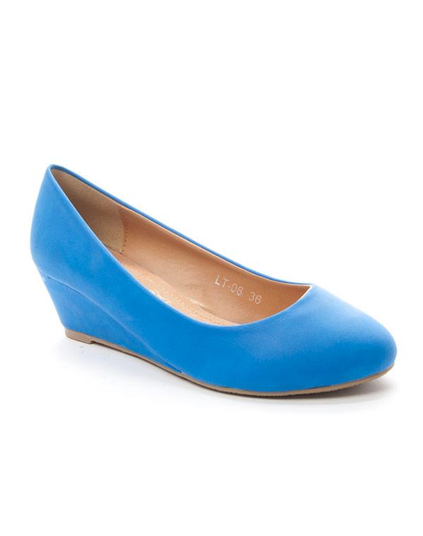 ShoesEscarpins Compensés Chaussures Femme Style Bleu 8wnOPk0NXZ