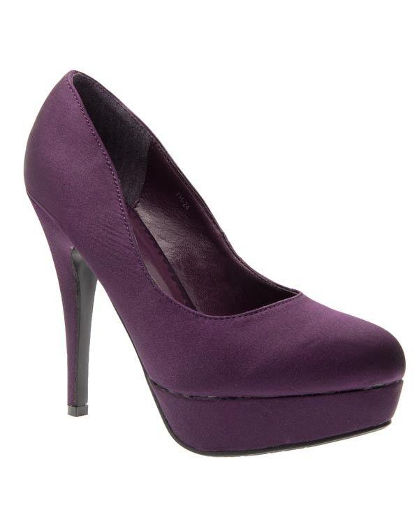 service durable prix raisonnable remise pour vente Chaussures femme Sunrise C: Escarpins violet