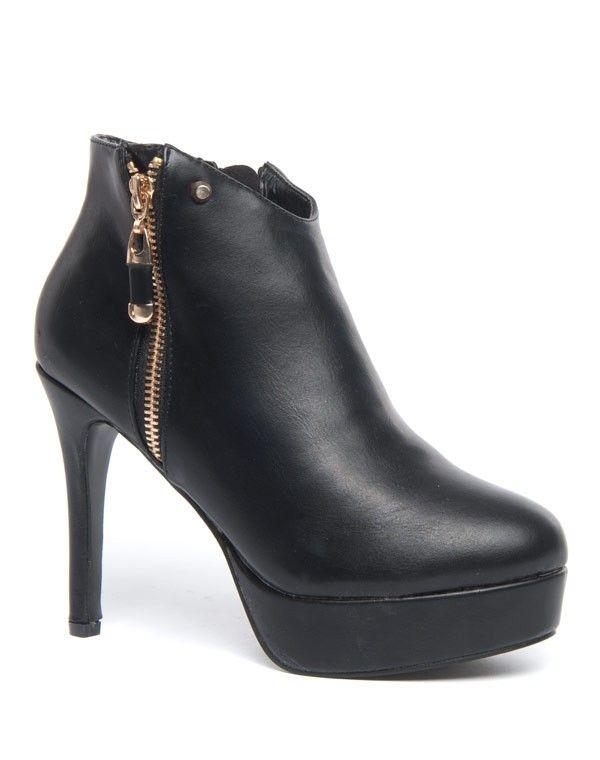 prix le plus bas 24a12 4414b Chaussures femmes Jennika: Plateforme et talon haut à zips