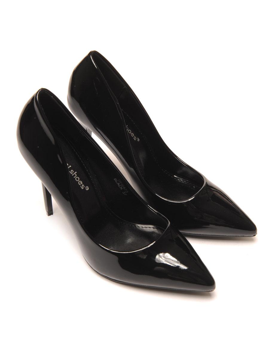 escarpin noir mtallis chaussure femme pas cher. Black Bedroom Furniture Sets. Home Design Ideas