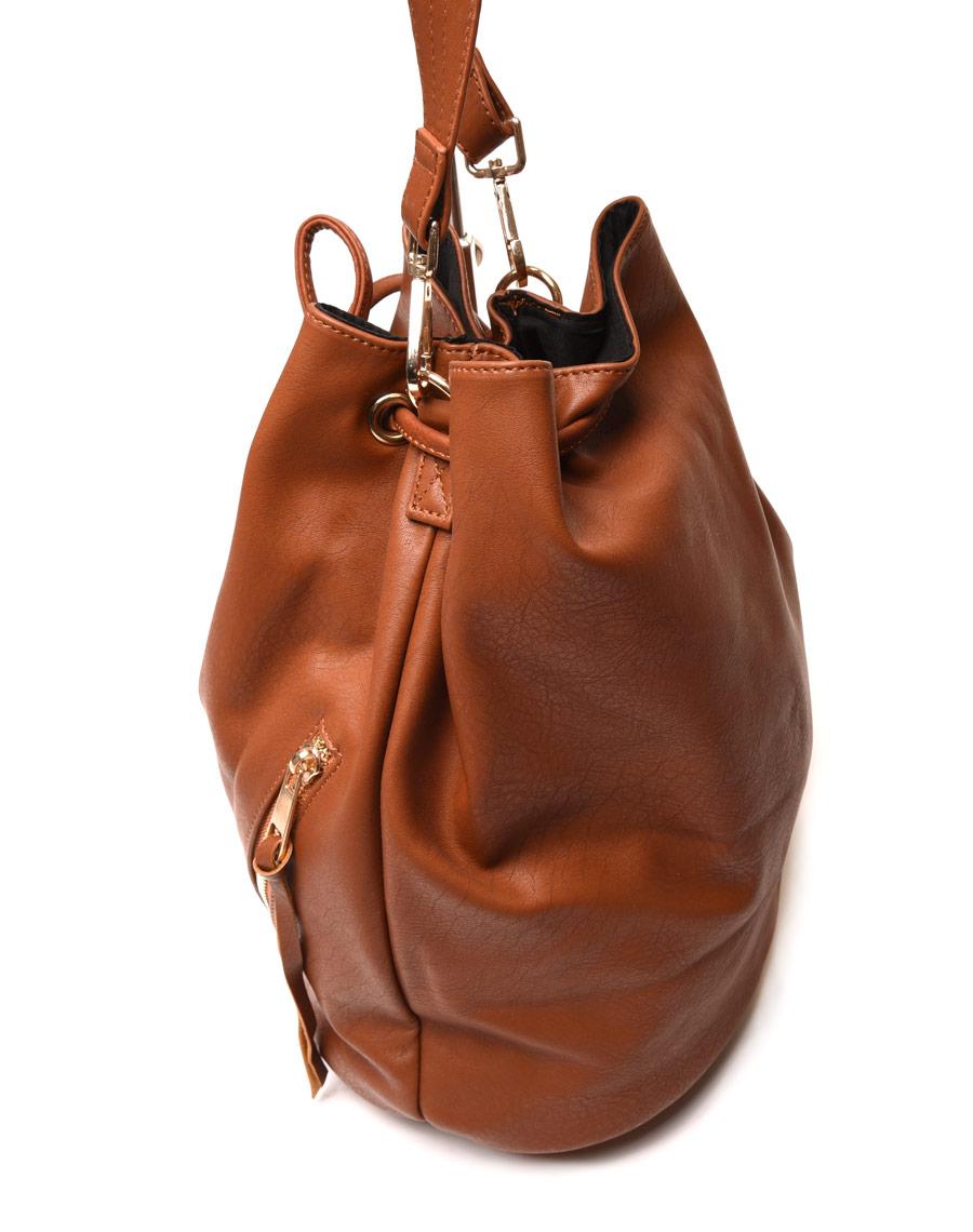 magasin en ligne 3ec6d 0a5a1 Grand sac bourse camel