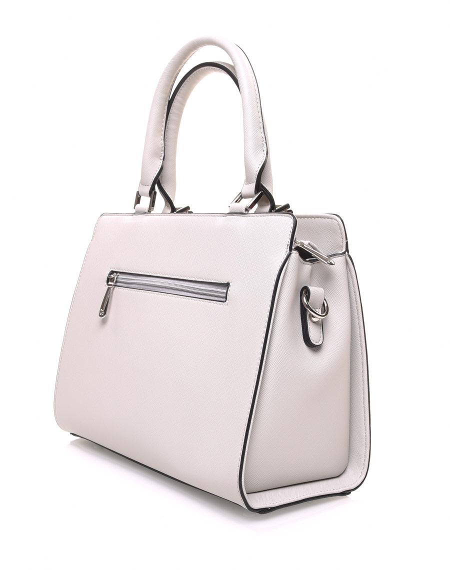 many fashionable save off delicate colors Petit sac à main gris clair clouté