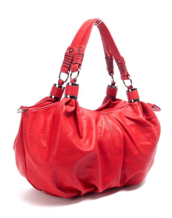 sac femme nanucci sac main rouge. Black Bedroom Furniture Sets. Home Design Ideas