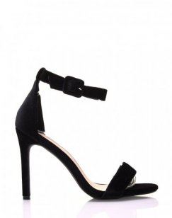 Escarpins noirs en velours