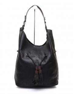 Large sac quotidien noir