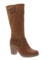 Chaussure femme Style Shoes: Botte camel