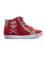 Chaussures femme Sinly: Basket rouge