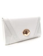 Sac femme Style Shoes: Pochette blanche