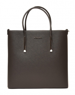 Sac cabas carré gris anthracite
